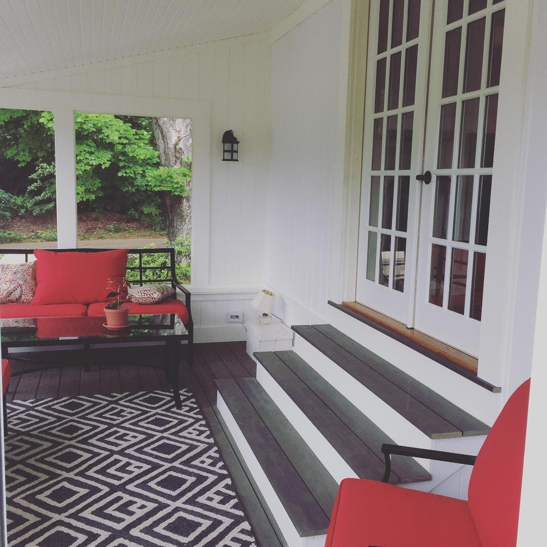 Rowe Porch Interior